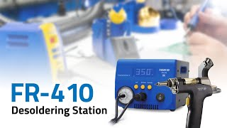 FR-410 High Power Desoldering Station
