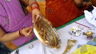 Thali decoration part 4