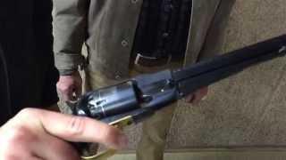 Vorderlader Revolver - laden und schießen