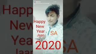 Happy New Year Jaan 2020 S A Y I L Y हैप्पी न्यू ईयर जान