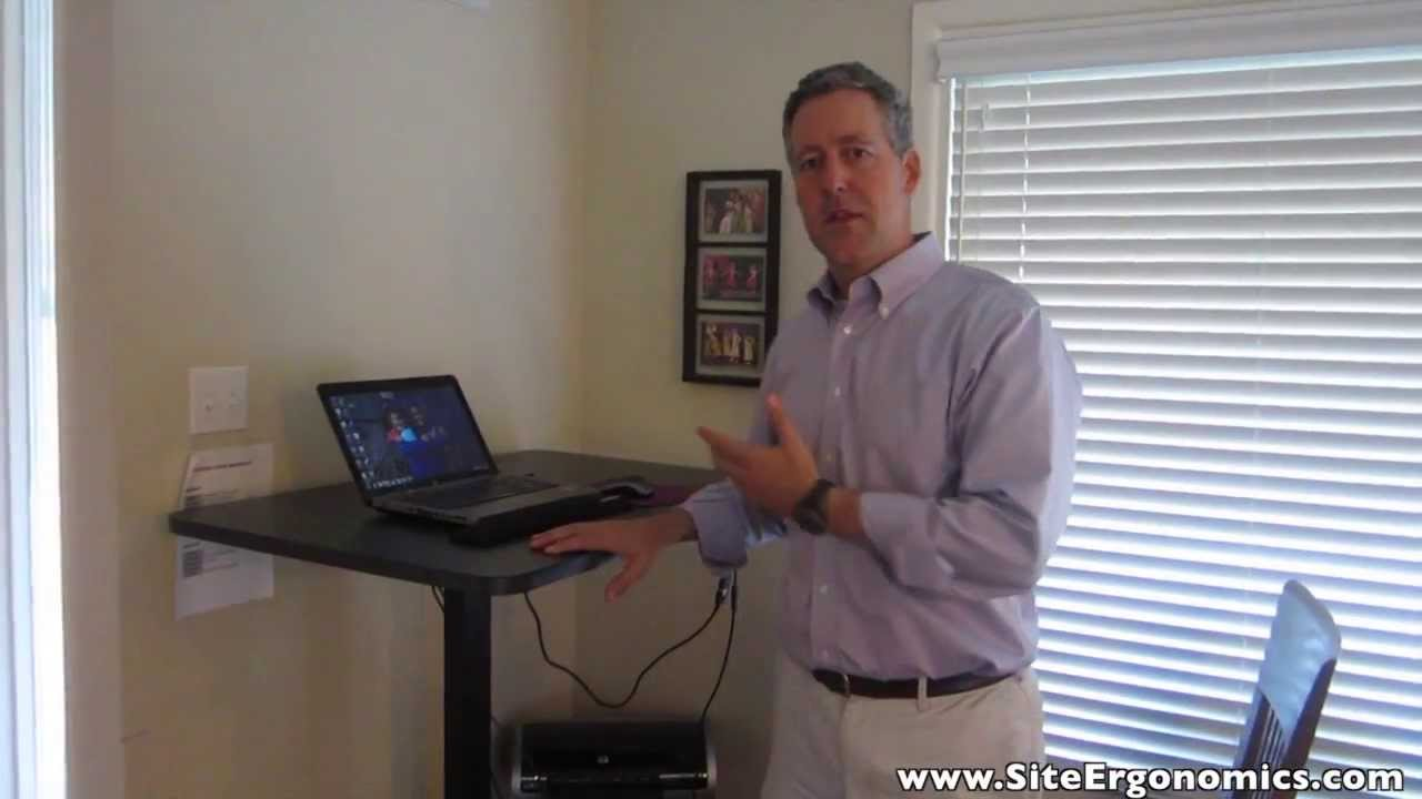 The Ergonomics Guy UpLift 970 Desk Review Standing Desk YouTube