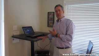 The Ergonomics Guy - Uplift 970 Desk Review - Standing Desk