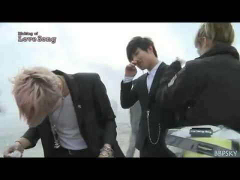 Big Bang- Love Song MV Behind The Scene 2_2_(Arabic Sub)