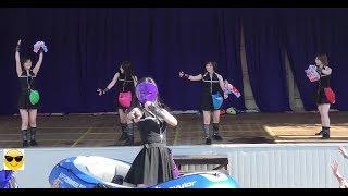 2018/07/22 うるしの里会館 屋外ステージ 仮面女子『アーマーガールズ』...
