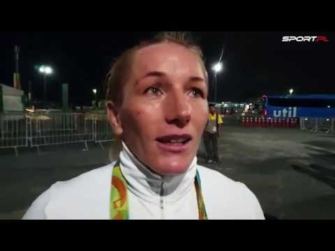 Monika Michalik po brązowym medalu w Rio