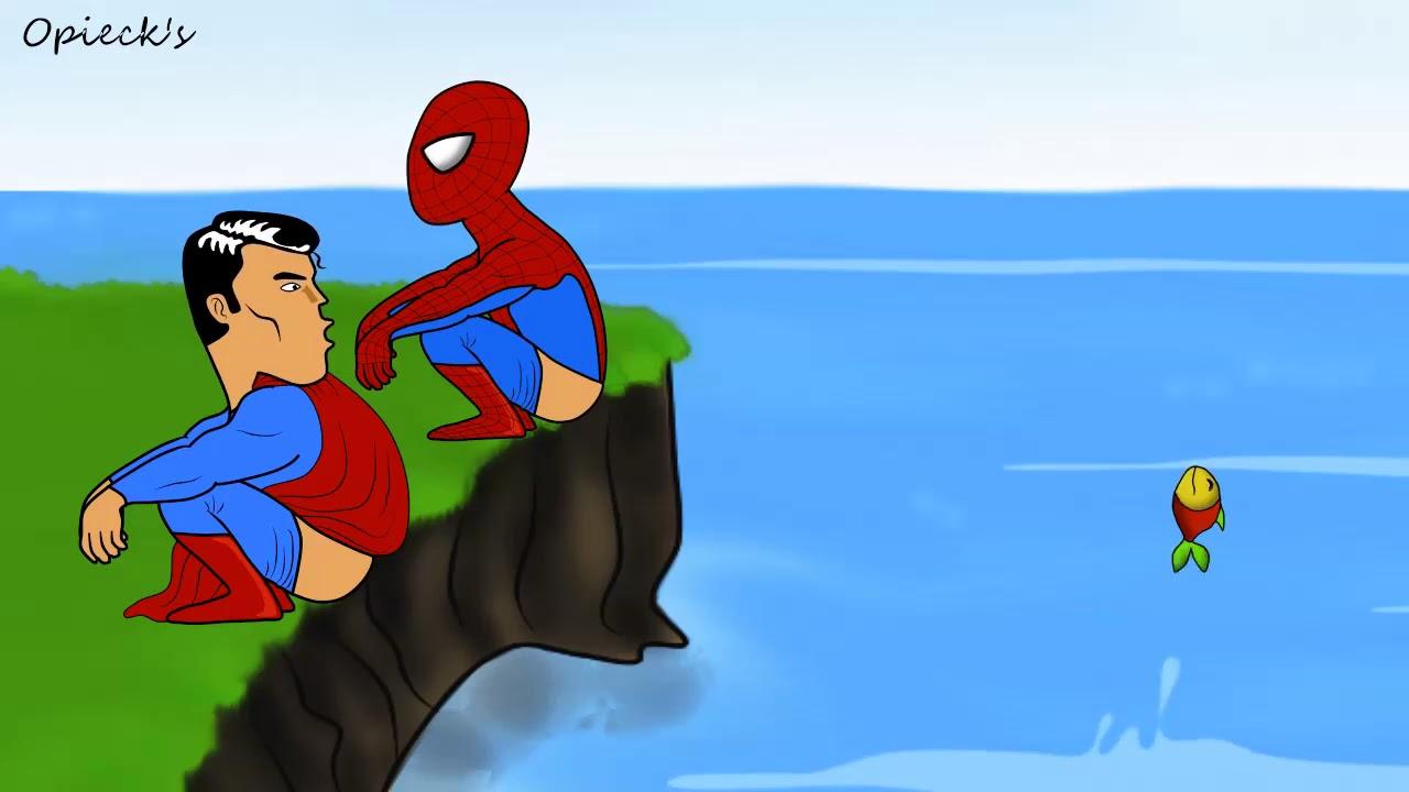 Download Video Kartun Lucu Superhero Buang Air