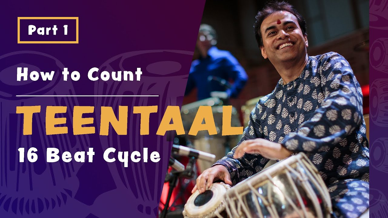 New Video: How to Count Teentaal (16 Beat Rhythm Cycle)