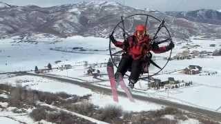 DJI Inspire 1 / Paramotor FLY OFF!!!