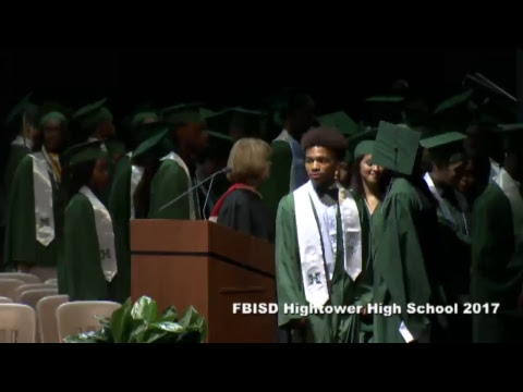 Fort Bend ISD Hightower High School Graduation 2017