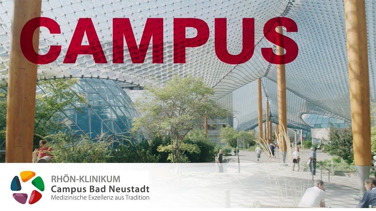 Imagefilm Campus Bad Neustadt Youtube