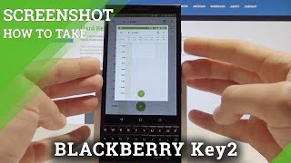 How to Screenshot in BLACKBERRY Key2 - Capture Screen in BLACKBERRY