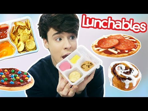 i only ate LUNCHABLES for 24 hours