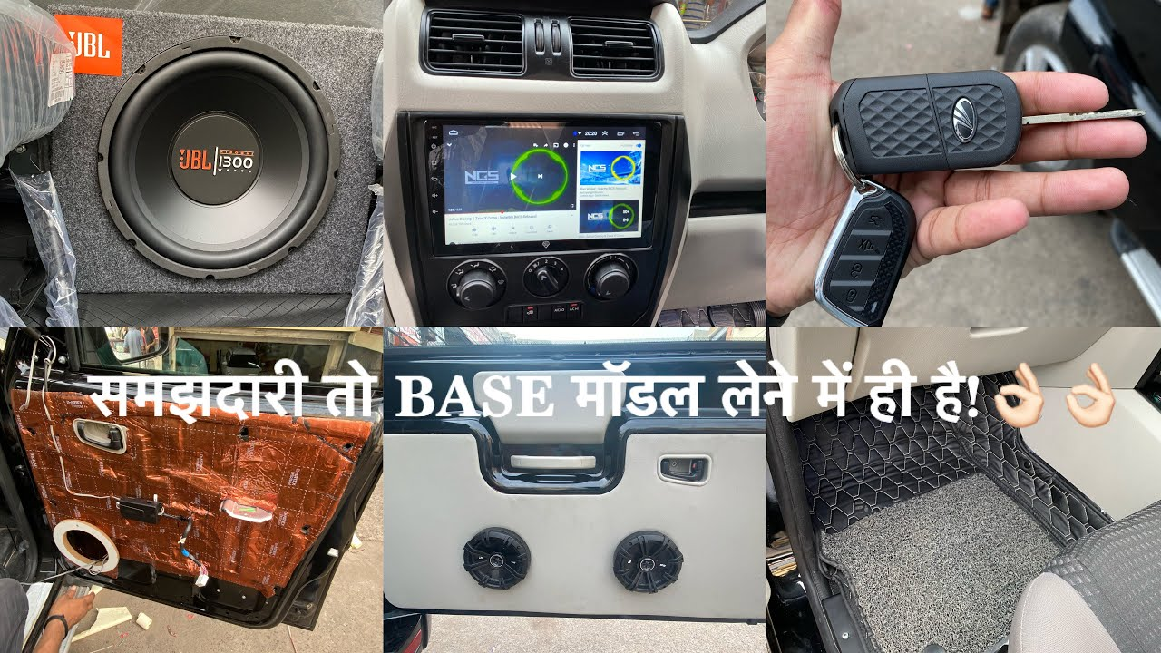 new SCORPIO  base model modified | android stereo for scorpio | scorpio s5 को बनाया s11 in only ₹ ??