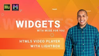 HTML5 Video Player with Lightbox Widget | Adobe Muse CC | Muse For You