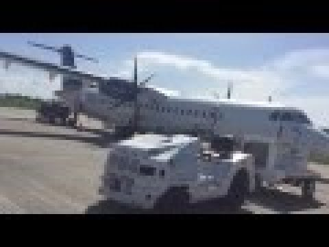 My Flight from Guyana to Barbados on liat | 72-600