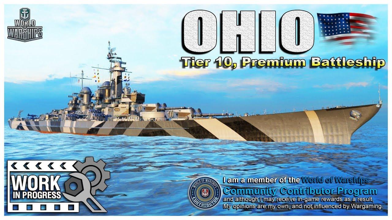 Angry Nerd] World of Warships: OHIO, American Tier-10