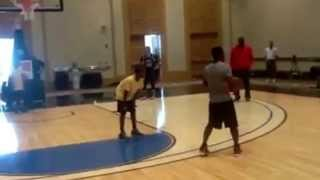 Kevin Hart vs Zaire Wade 1 on 1