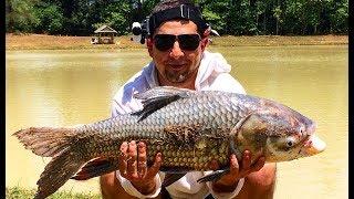 Рыбалка на пресноводных монстров в Тайланде