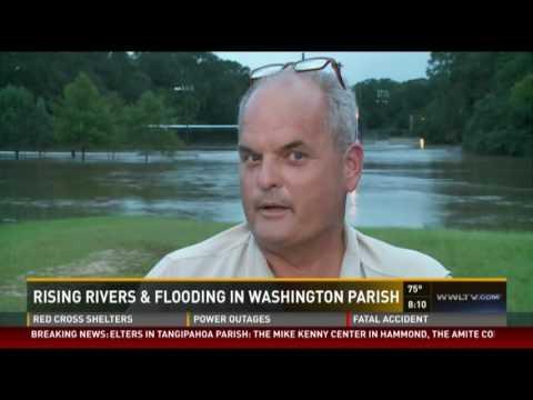 Louisiana Flooding Saturday Morning Broadcast 8/13/16