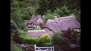 Красивые Дома с соломенной крышей в Англии