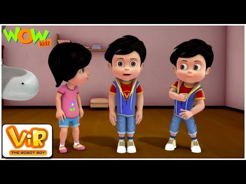Vir: The Robot Boy | Robot Vir | ENGLISH, SPANISH & FRENCH SUBTITLES | WowKidz
