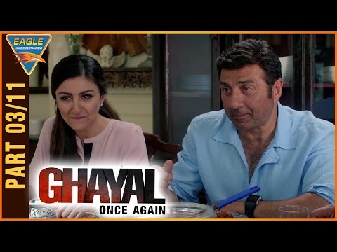 Ghayal Once Again Hindi Movie Part 03 || Sunny Deol, Om Puri, Soha Ali Khan || Eagle Hindi Movies