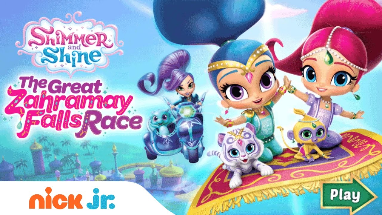 Shimmer And Shine Free 'Great Zahramay Falls Race Game