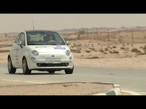 Road trip to Qatar: Fiat 500 @ Al Zubara Fort