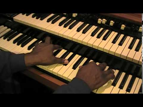 The Db C-Dub Whooping Chord Chart Applied To The Hammond Organ