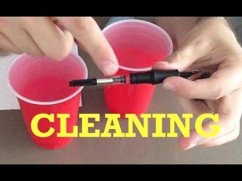 Fountain Pen How To: Clean a Cartridge-Converter Pen