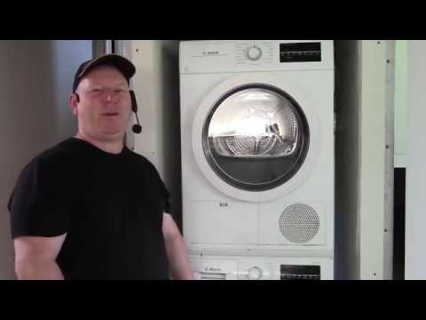 How To Fully Clean Bosch Ductless Dryer Including Sump Pump Pit