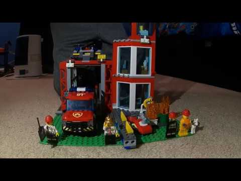 LEGO Fire Station (60215) Set Review | Toys for Life