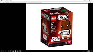 Новые наборы Лего Звездные Войны 2018 года / Новые Lego BrickHeadz 2018 года !