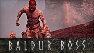 God of War - Baldur FINAL Boss Fight