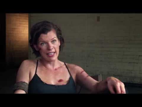 Resident Evil The Final Chapter Abigail Featurette Hd Milla
