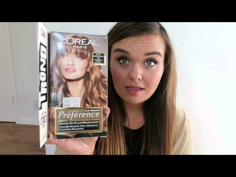 GOING BRONDE - L'OREAL PARIS PRÉFÉRENCE GLAM BRONDE KIT | Charlotte Taylor