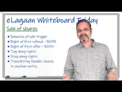 Sale of shares by Founders [Whiteboard Friday]
