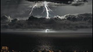 Forte activité électrique au Nord de la Réunion