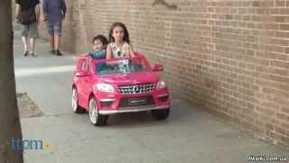 Детский электромобиль Mercedes-Benz ML 63 ERS-3 - fiksiki.com.ua