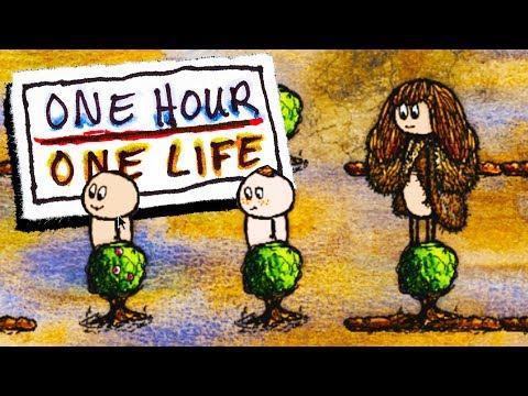 FEEDING A CIVILIZATION - One Hour One Life Gameplay