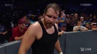 WWE Smackdown 13 09 2016 John cena e Dean Ambrose VS Aj Styles e ???? ITA