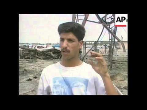 IRAQ: US AIRSTRIKES ON IRAQI POWER STATION