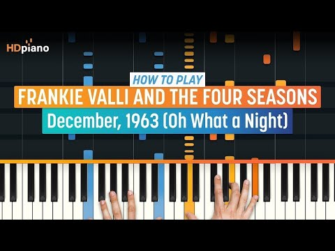 "How To Play ""December, 1963"" by Frankie Valli & The Four Seasons 