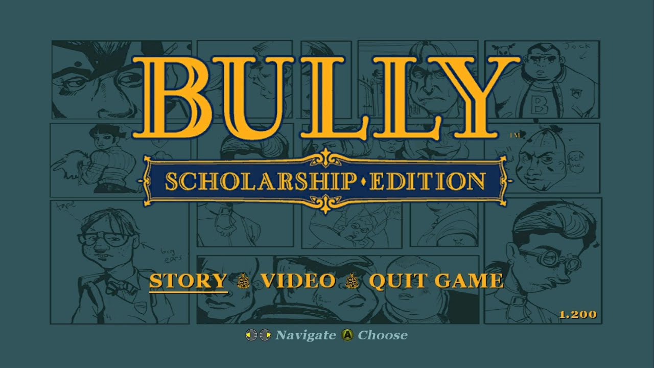 Game Patches: Bully: Scholarship Edition Patch v12