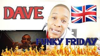 Dave - Funky Friday (ft. Fredo) REACTION VIDEO | KINGTV VLOGS