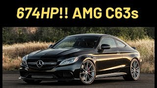 Better than M3 Comp? 674 HP 2018 AMG C63s - One Take