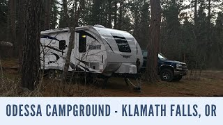 Free Camping Odessa Campground Klamath Falls, OR