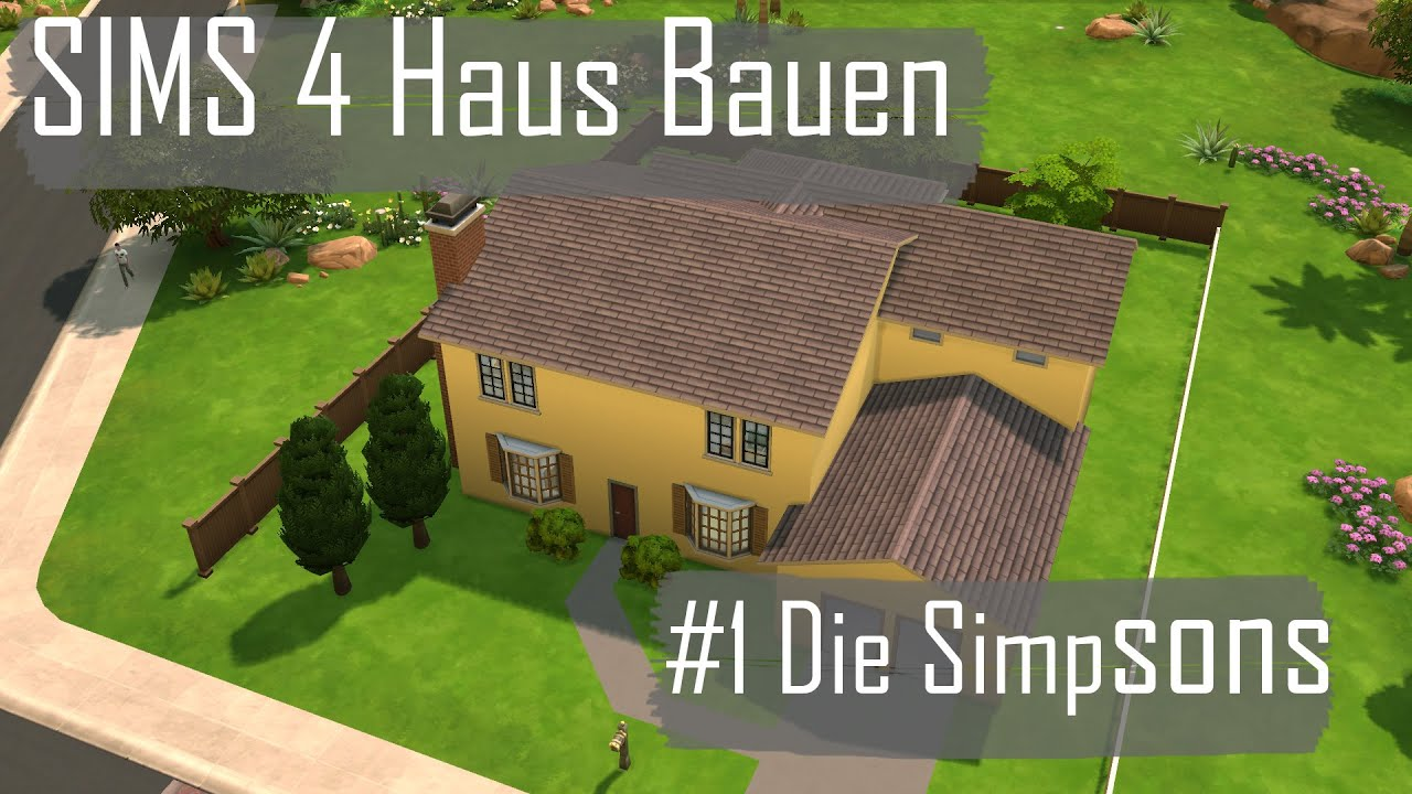 sims 4 haus bauen 1 the simpsons home download haus. Black Bedroom Furniture Sets. Home Design Ideas