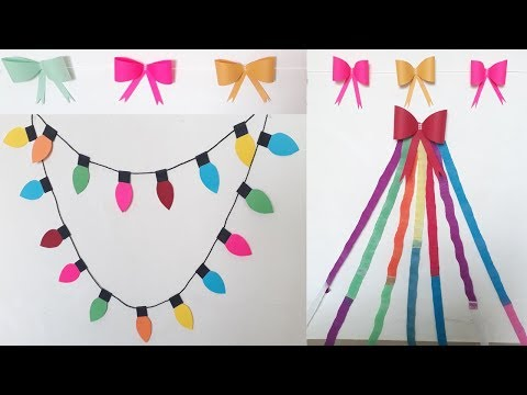 3 DIY Birthday Decoration Ideas At Home