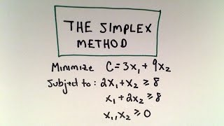 Zapętlaj ❖ The Simplex Method and the Dual : A Minimization Example ❖ | patrickJMT